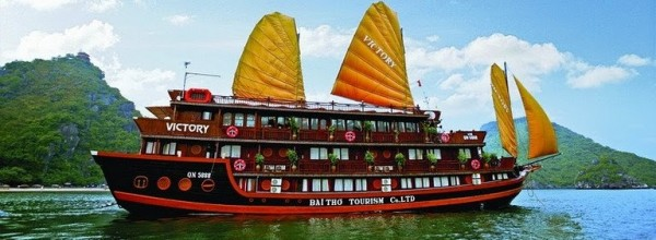 Halong Bay cruises - Victory Cruise