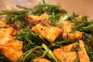 Vietnam Cuisines - Cha ca La Vong (grilled minced fish)