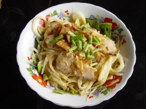 Vietnamese food - Cao Lau noodle