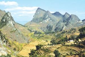 Dong Van park boasts geological marvels