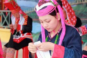 Beauty of Dao ethnic women
